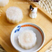 水晶虾仁月饼