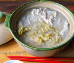 东北酸菜汆白肉