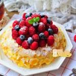 巴黎车轮泡芙蛋糕(甜品点心)