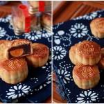 广式豆沙蛋黄月饼(中秋美食)