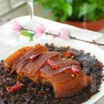 梅干菜扣肉(清蒸菜)