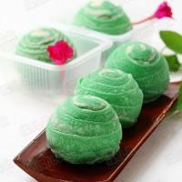 蔓越莓绿豆沙潮式月饼