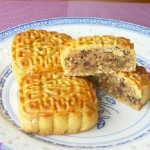 叉烧果仁月饼(中秋美食)