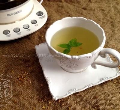 罗勒桂花茶