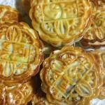 广式豆沙双拼月饼(中秋传统月饼)