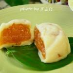 哈蜜瓜冰皮月饼(中秋美食)