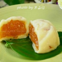 哈蜜瓜冰皮月饼