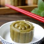 薄荷豆沙月饼(中秋传统月饼)