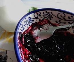 蓝莓果酱、蓝莓大理石纹酸奶、酸奶提子冰棍