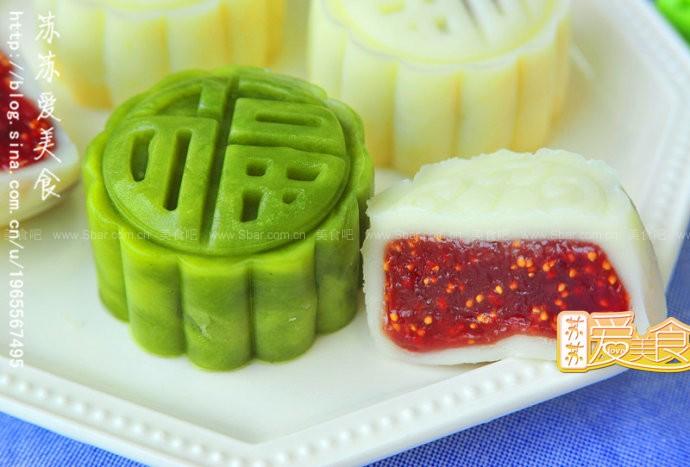 冰皮水果月饼的做法【图解】_冰皮水果月饼的家常做法