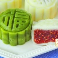 冰皮水果月饼
