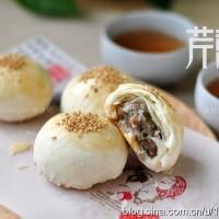 苏式韭菜鲜肉月饼