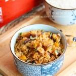 香菇油饭(早餐菜谱)