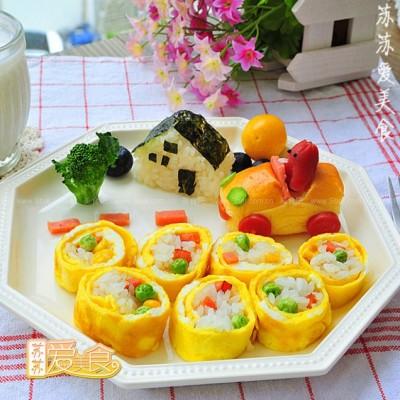 韩式蛋卷饭