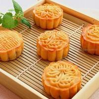 麻薯红豆沙月饼