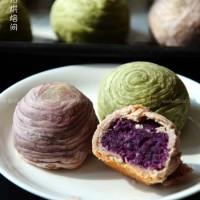 抹茶酥VS紫薯酥