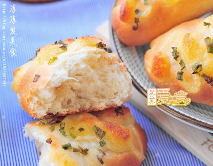 香葱芝士小面包