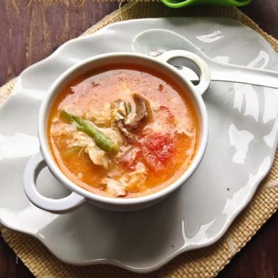 西红柿疙瘩汤