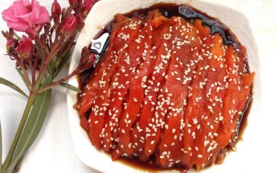 烤柿子椒(烤箱菜)