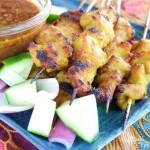马来鸡肉沙爹(南洋风味)