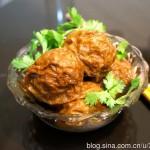 肉馅面筋(最经典的无锡菜)