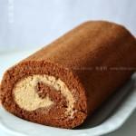 可可摩卡蛋糕卷(甜品点心)