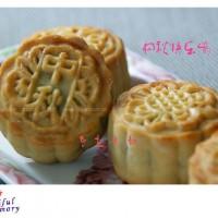 广式莲蓉蛋黄/什锦果仁月饼