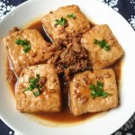 肉末老豆腐