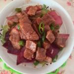 洋葱牛肉粒
