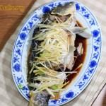 葱油鲤鱼(清蒸菜)