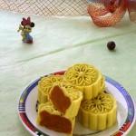 冰皮南瓜月饼(甜品点心)