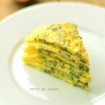 秋葵鸡蛋饼(早餐菜谱)