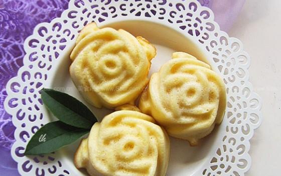 酸奶黃油玫瑰蛋糕(甜品點心)