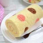 波点蛋糕卷(甜品点心)
