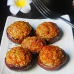 烤香菇酿肉(烤箱菜)