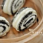 黑芝麻花卷(早餐菜谱)