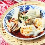 蒲公英鲜肉水饺(早餐菜谱)