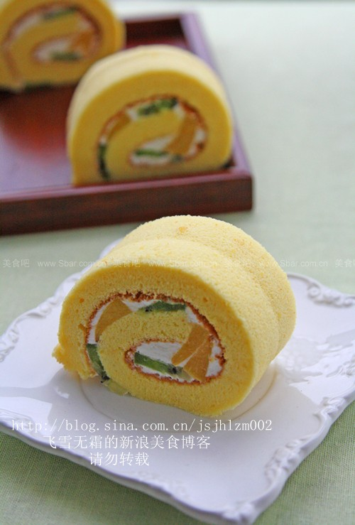 水果蛋糕卷