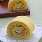 水果蛋糕卷(甜品点心)