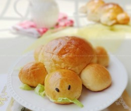 小乌龟肉松包
