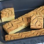 香橙千叶纹蛋糕(甜品点心)