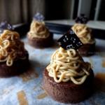 蒙布朗和栗子蛋糕(甜品点心)
