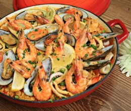 正宗西班牙海鲜饭