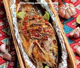 泰式香蒜纸包鱼