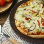 薄底全素披萨(下午茶)