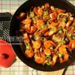 黑椒汁蘑菇什錦燜鍋(自制黑椒汁)