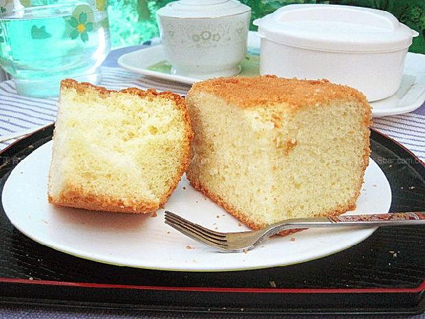 面包机版海绵蛋糕