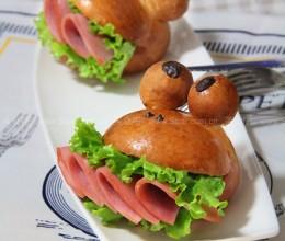 青蛙火腿堡