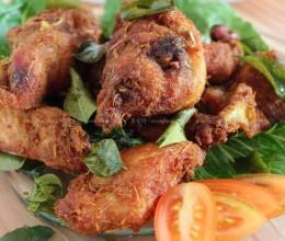 马来香料炸鸡