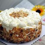 火龙果奶油蛋糕(甜品点心)